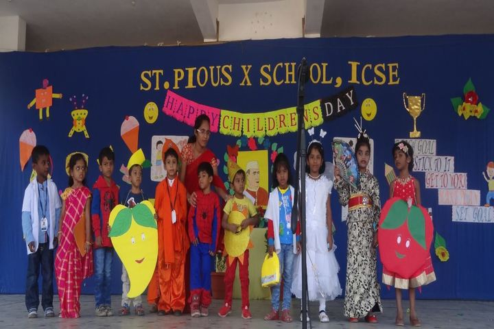 St Pious X School-Childrens day