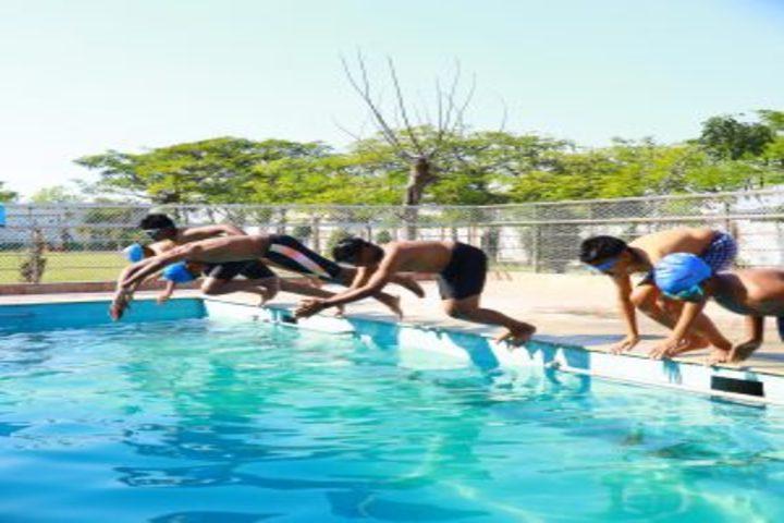 IRIS World School-Swimming Pool
