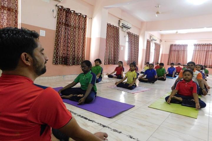 IRIS World School-Yoga day