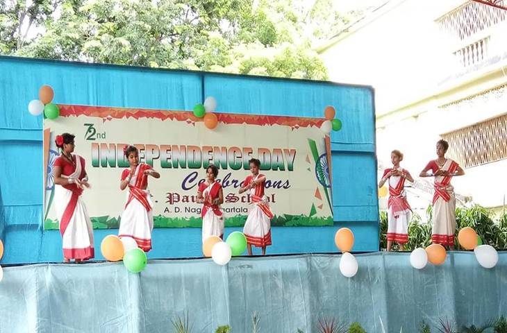 St Pauls School-Independence day Celebration