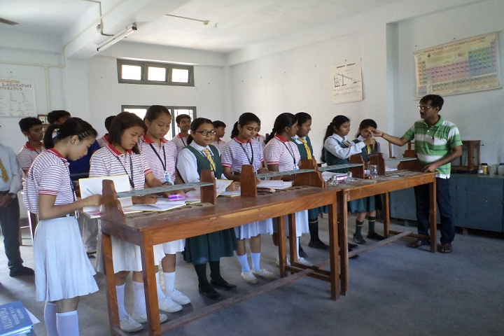 Holy Cross Convent School-Chemistry Lab