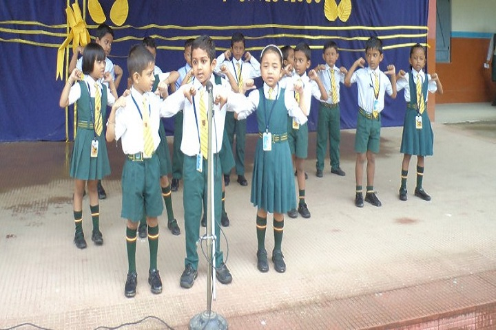 Holy Cross Convent School-Singing