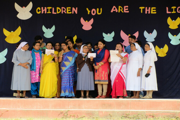 Holy Cross Convent School-Childrens day