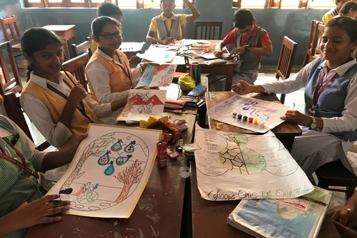 Christ The King School-Drawing Competition