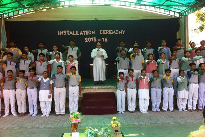 Christ The King School-Cermony