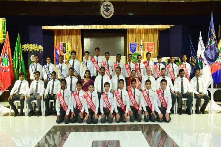 Boys High School And College-Investiture Ceremony