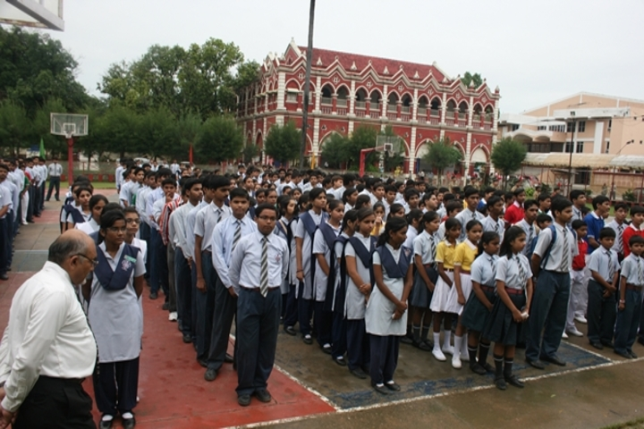 Bishop Johnson School and College-Assembly