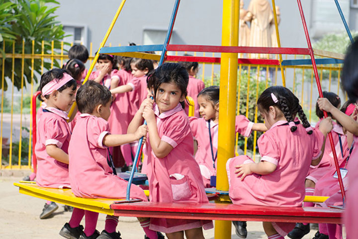 Holy Child School-Playing Area