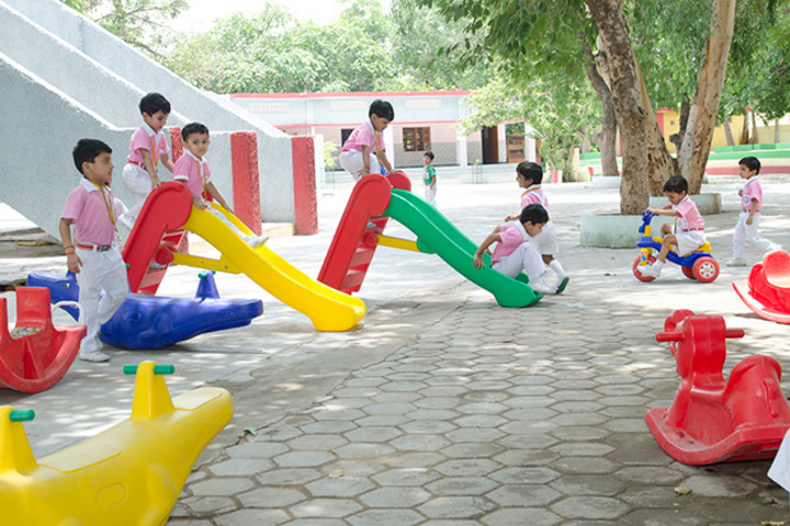 Christ The King College-Kids Playing Area