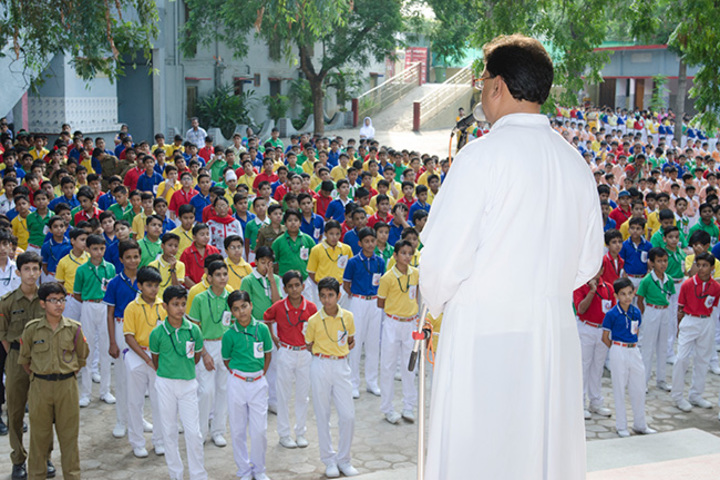 Christ The King College-Morning Assembly