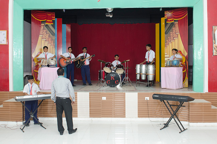 Christ The King College-Music Room