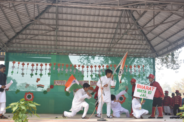 Christ The King College-Republic Day