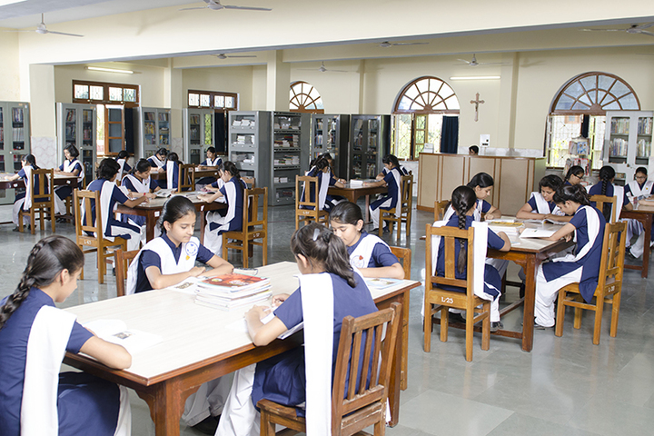 St Francis Convent Inter College-Library