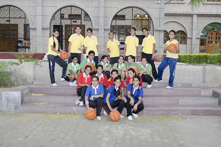 St Francis Convent Inter College-Sports Team