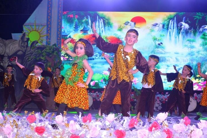 Seth Anandram Jaipuria School-Dancing Activity