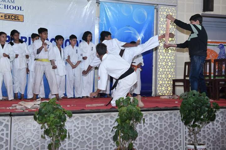 Seth Anandram Jaipuria School-Karate Activity