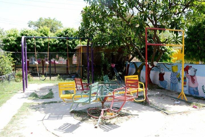 Seth Anandram Jaipuria School-Kids Play Area