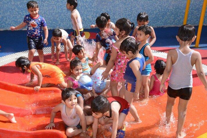 Seth Anandram Jaipuria School-Swimming Pool
