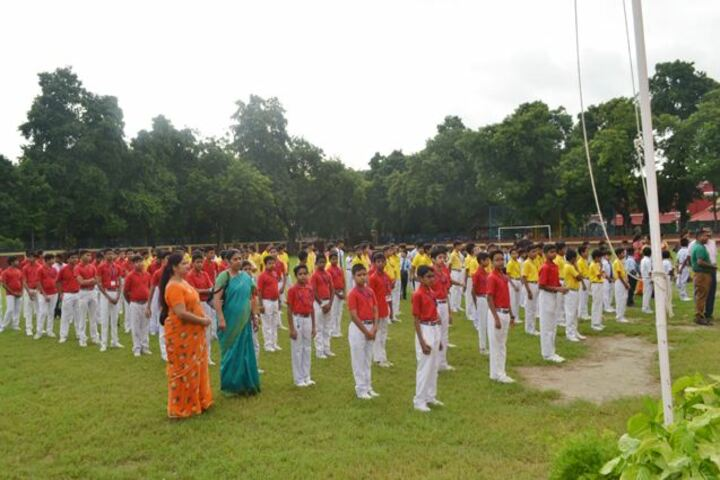 St Aloysius High School-Independence Day