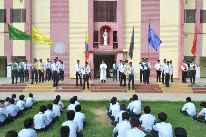 St Aloysius High School-Investiture Ceremony
