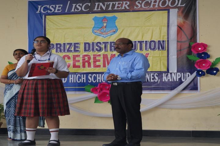 Huddard High School-Annual Prize Distribution