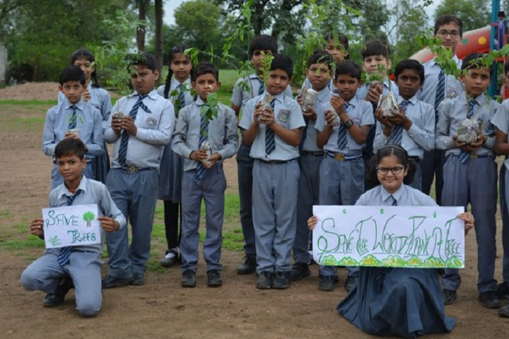 Modern Public School-Save Tree Campaign
