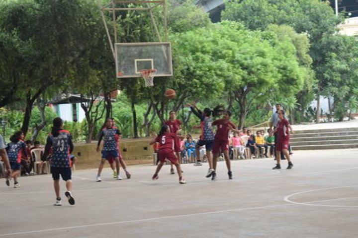 La Martiniere Girls College-Play Ground