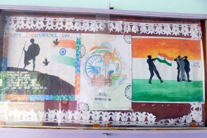 St Dominic Savio School-Posters made on Independence Day