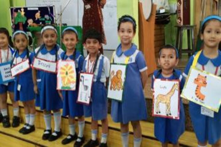 City Montessori Inter College-Assembly by Junior wing