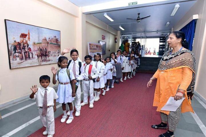 City Montessori Inter College-Children