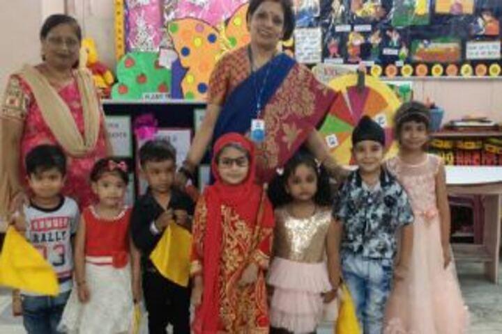 City Montessori Inter College-Senior Citizen Day