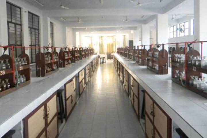 City Montessori Inter College-Chemistry Lab