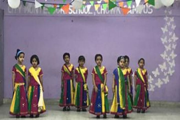City Montessori Inter College-Dance
