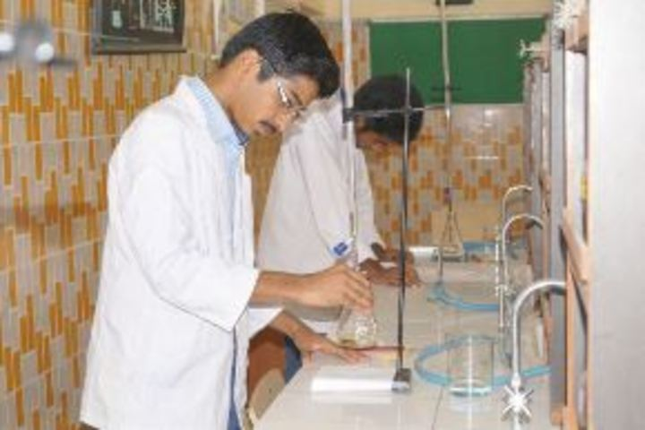 """Holy Angels School-Chemistry Lab"""