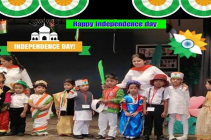 City Montessori Inter College-Independence Day