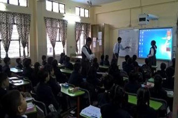 City Montessori Inter College-Primary Teaching Session