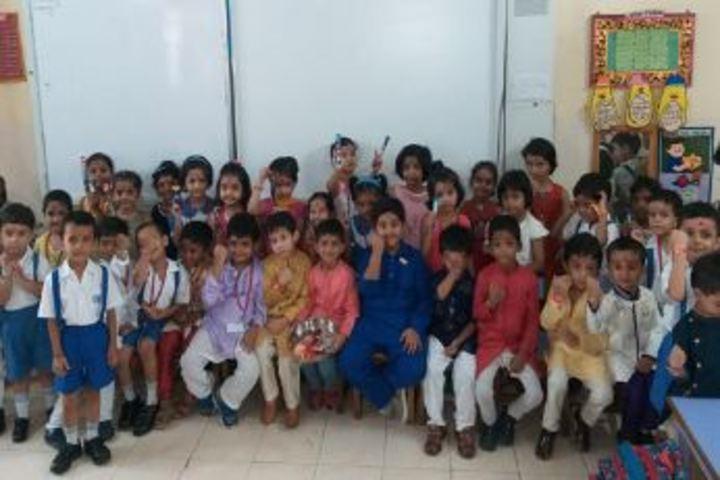 City Montessori Inter College-Raksha Bhandan Celebrations