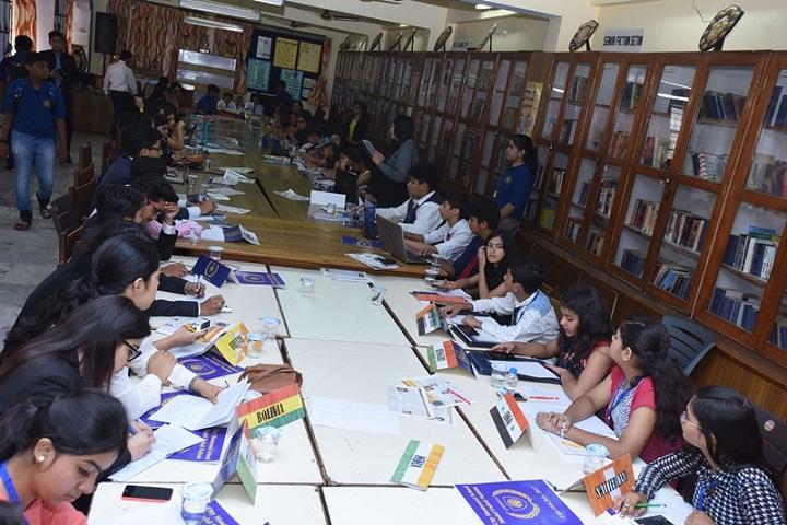City Montessori Inter College-Library
