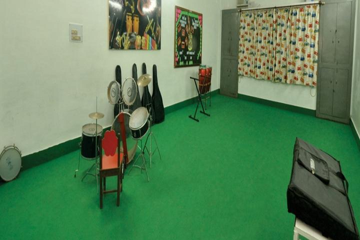 City Montessori Inter College-Music Room
