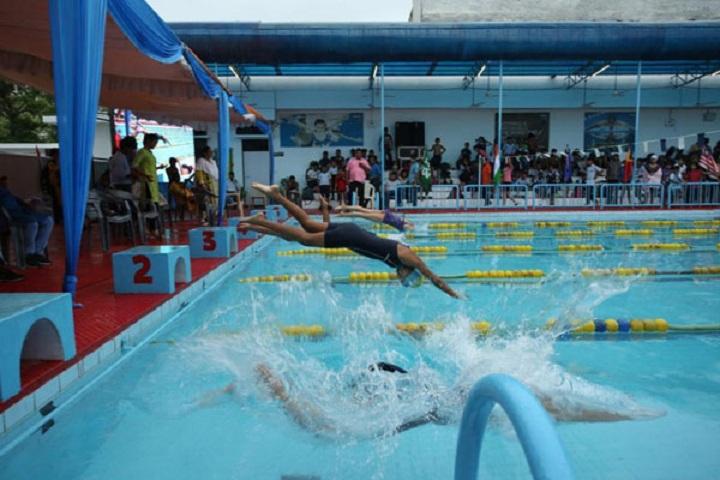 City Montessori Inter College-Swimming