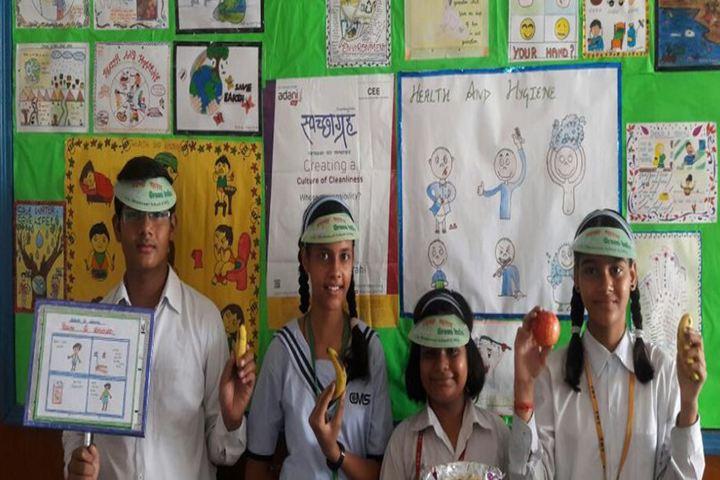 City Montessori Inter College-Environment Day