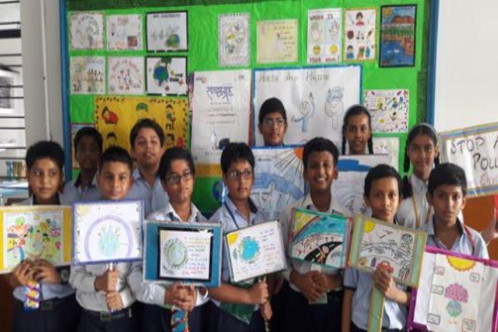 City Montessori Inter College-Ozone Day Celebrations