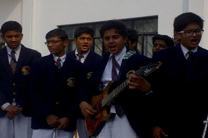 City Montessori Inter College-Singing