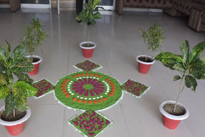 Dr Virendra Swarup Education Centre-Lobby Decoration