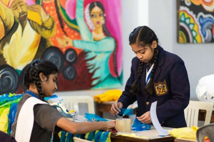United Public School-Art and Craft