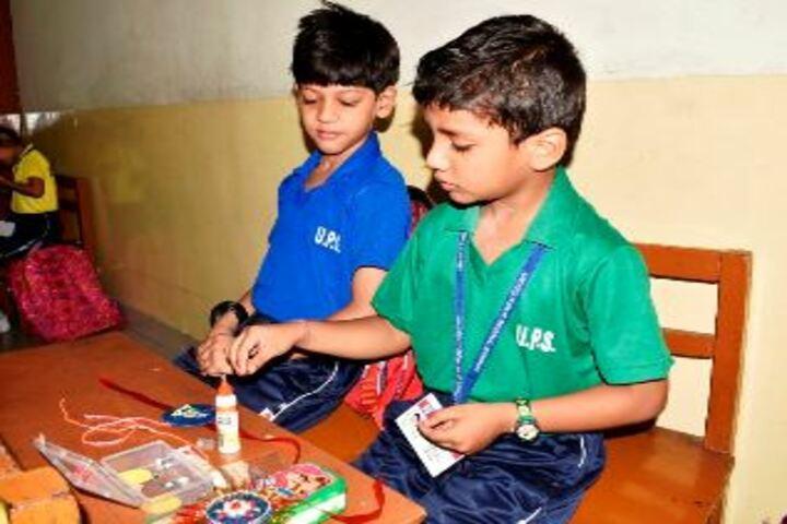 United Public School-Rakhi Making