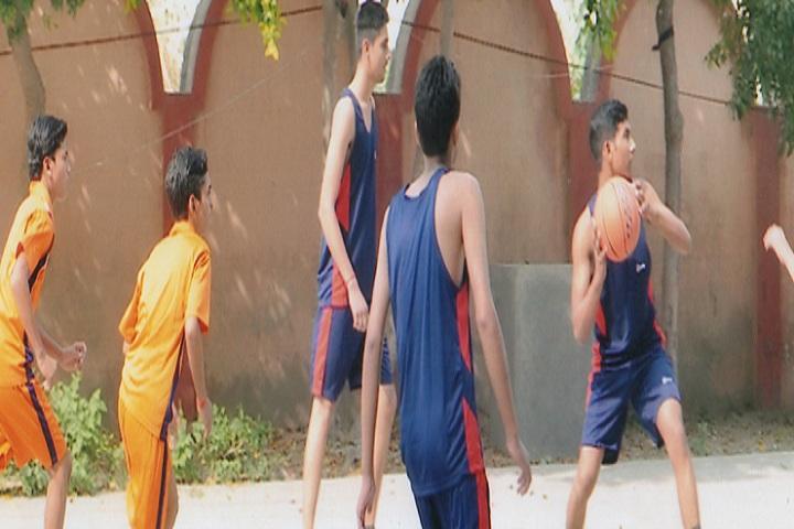 C P Vidya Niketan-Basket Ball