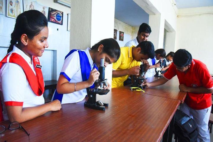 Dr. Virendra Swarup Memorial Public School-Biology Lab