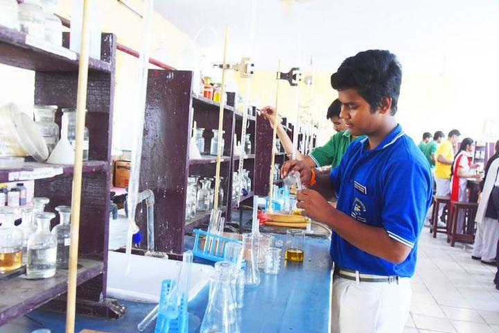 Dr. Virendra Swarup Memorial Public School-Chemistry Lab