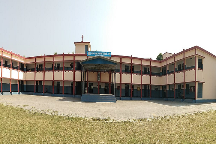 Don Bosco High School-Campus-View Front